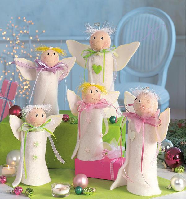 Компания маленьких ангелов