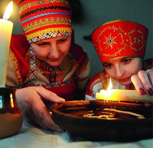 Святки — это магическое время, когда, совершив определенные ритуалы, можно заглянуть в будущее или призвать в дом благополучие и удачу