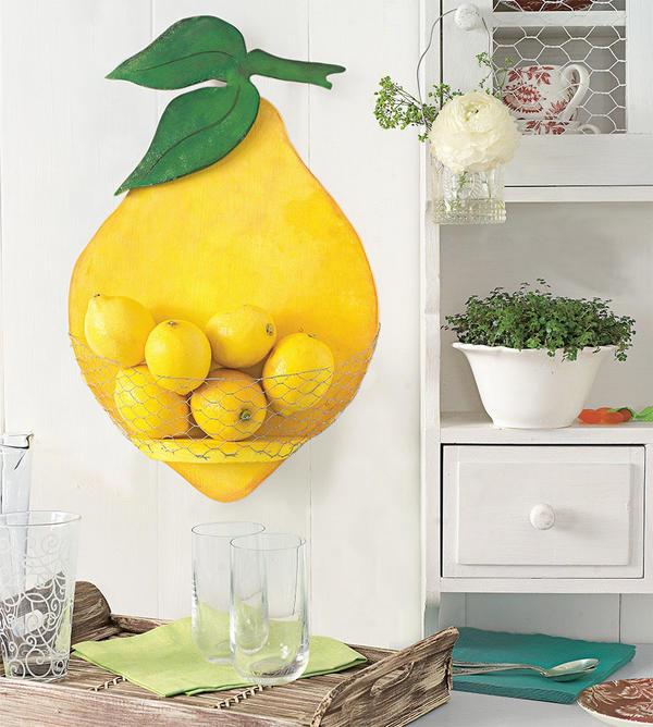 Симпатичный лимон