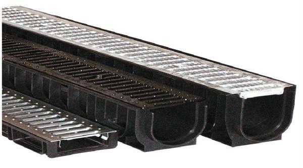 Рёбра на стенках и днище лотков нужны для прочного сцепления с фундаментом