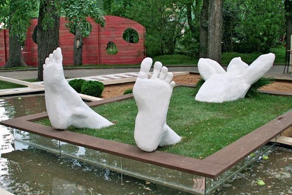 Зеленая ванна подойдет не для каждого сада, но если вы готовы к экспериментам - дерзайте!