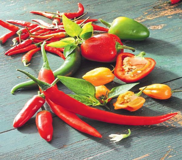 В природе существует немало видов красного перца