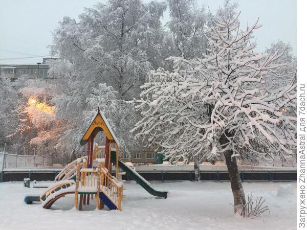 Зима как в сказке!