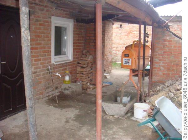 это маленький ( второй)мы уже поменяли окна и двери