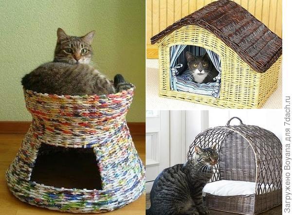 Плетеный домик. Фото с сайта https://ru.pinterest.com/