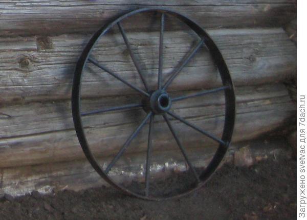 колёса от телеги