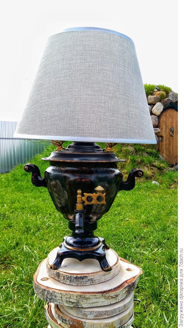 Самовар - Настольная лампа