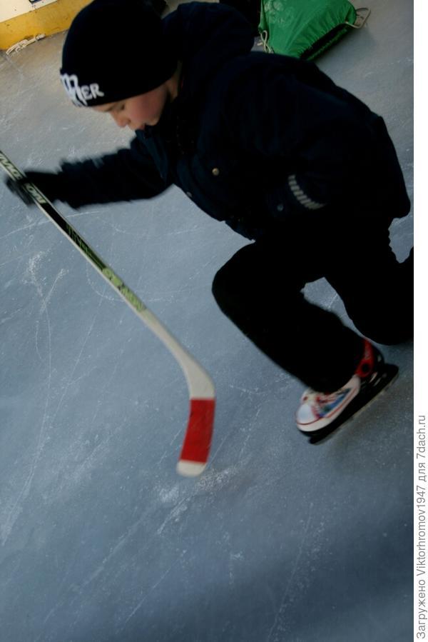 Без падений не обошлось. Лёд очень скользкий!... Оправдывался раскрасневшийся от удовольствия и свежего воздуха Тима. Падая и вставая...ты растёшь! (Поговорка спортсменов.)