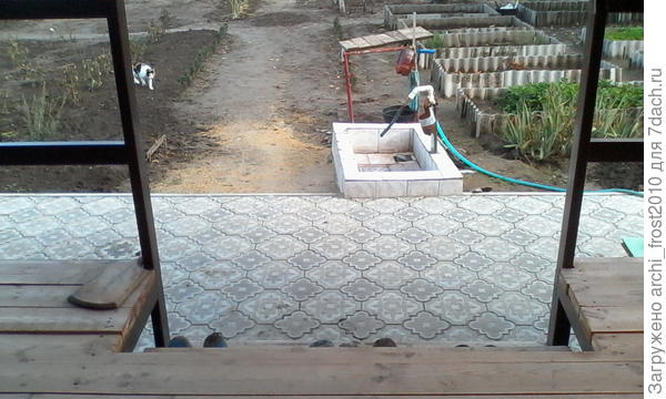 Вид с террасы