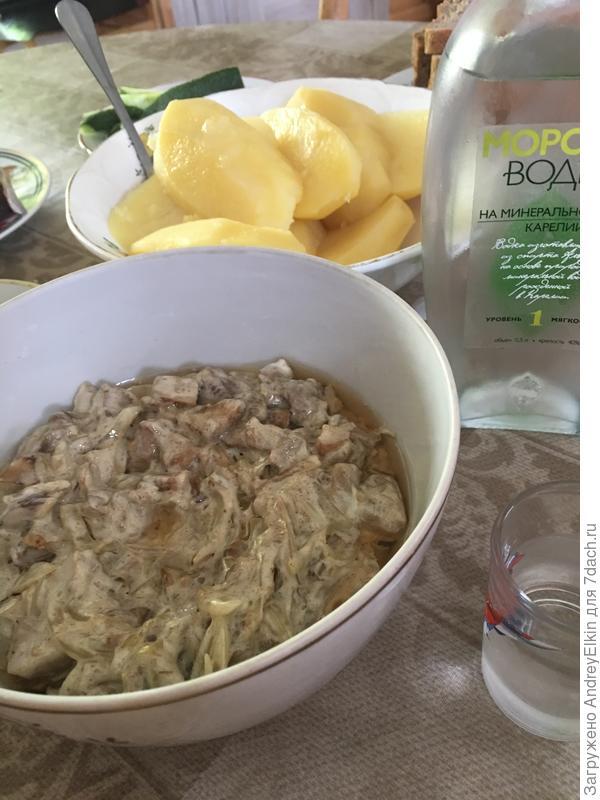 Грибы на летнем столе - пошаговый рецепт приготовления с фото
