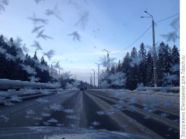 Зимой в Карелии очень холодно, но красиво!!!