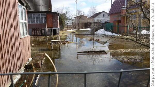 соседский участок -можно плавать