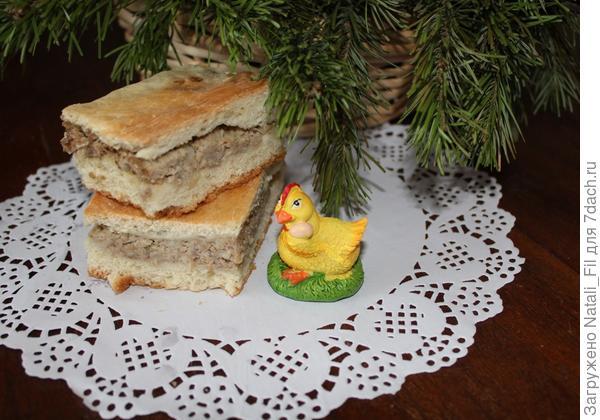 Новогодние и Рождественские праздники позади, а сегодня народ по-старинке празднует Старый Новый Год. В 20 веке, когда я была совсем маленькой этот пирог пекла моя бабушка в ночь под Старый Новый Год.