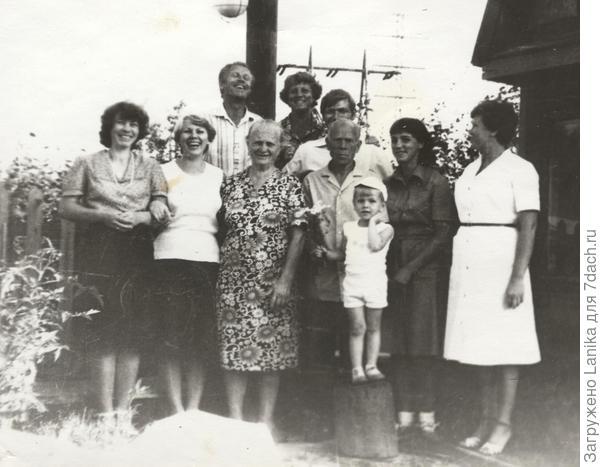 Мамин сад-огород, 1981 год.