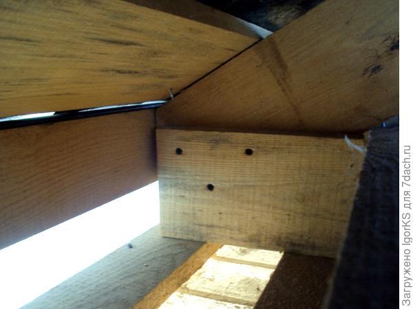 Устройство карнизной части крыши