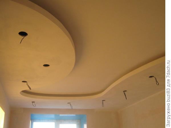 Потолок...