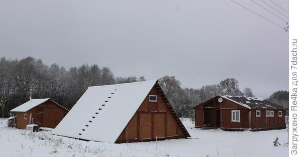 Зимуем первую зиму в новом доме. Результатом своих трудов довольны!
