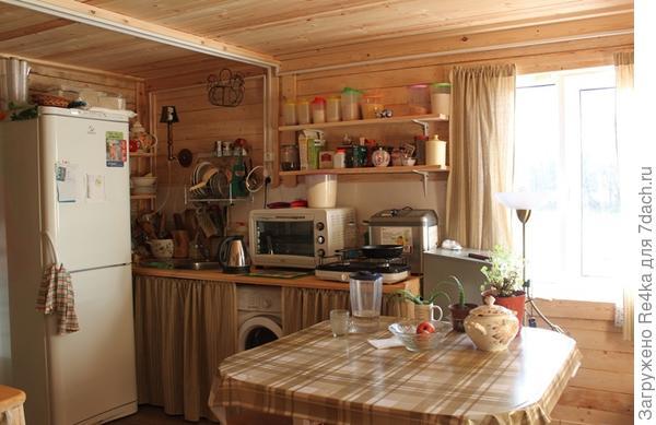 Кухонная зона.