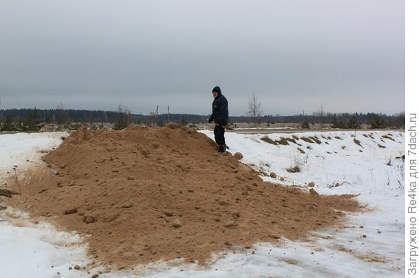 Зимний песок.