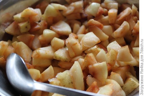 Яблоки из морозилки.