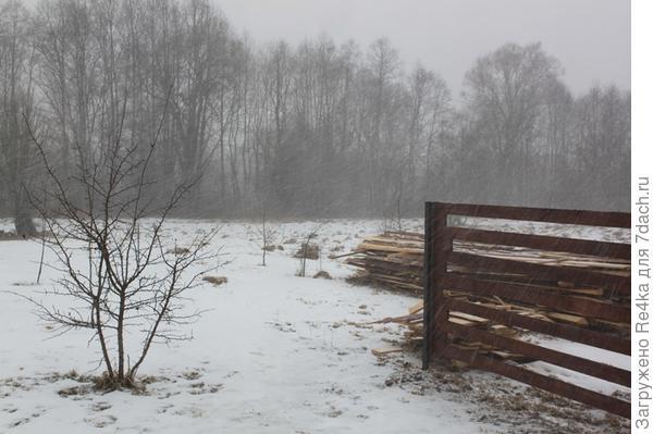 Но погода в основном такая, что весной и не пахнет.