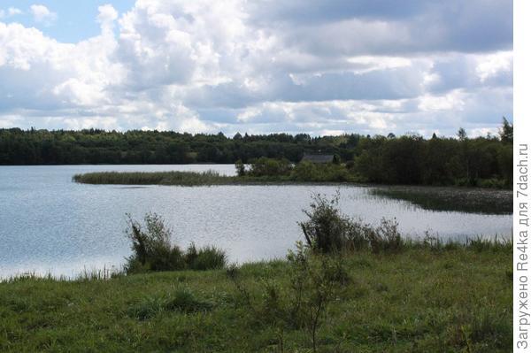 Ещё одно из озёр Новгородской области.