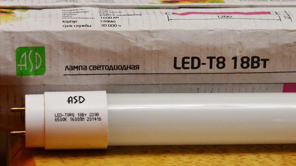 Лампа светодиодная для нейтрального освещения