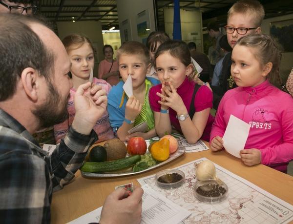 День Земли в Дарвиновском музее. Фото с сайта darwinmuseum.ru
