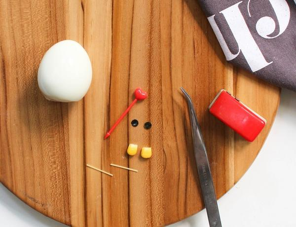 Понадобится всего лишь яйцо... Фото с сайта bentomonsters.com