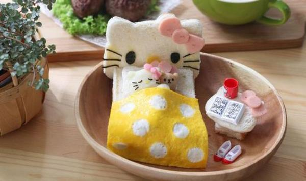 Кошачья идилия в тарелке
