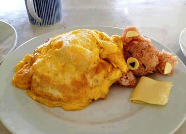 Такими блюдами радуют юных посетителей в ресторанах Японии. Фото с сайта boredpanda.com