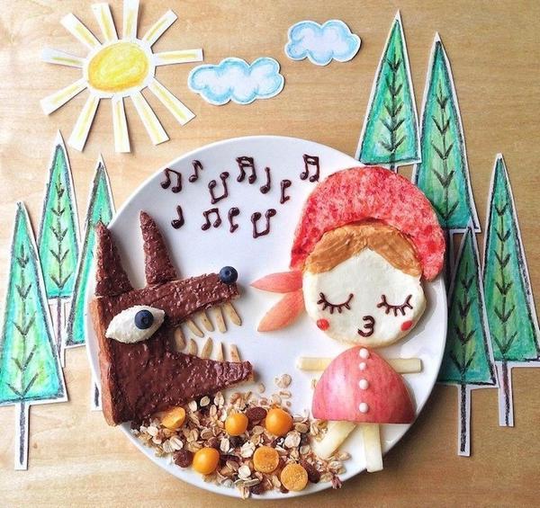 Красная Шапочка. Творчество Саманты Ли. Фото с сайта 123inspiration.com