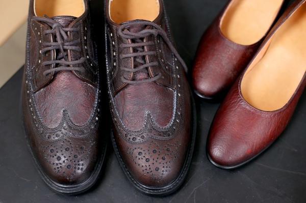 Полностью экологичная обувь, произведенная из целлюлозы чайного гриба. Фото с сайта sustainabilityinstyle.com