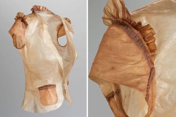 Одежда из целлюлозы чайного гриба. Фото с сайта inhabitat.com