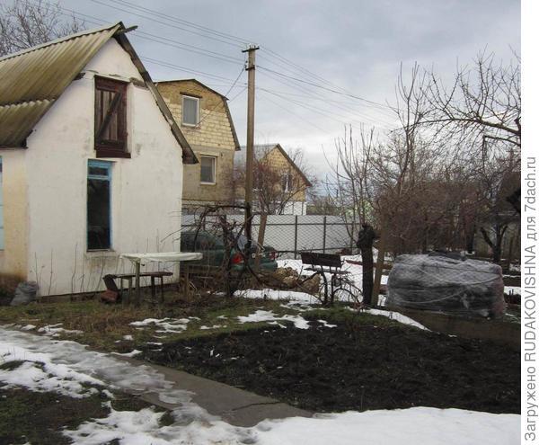 домик с ямой