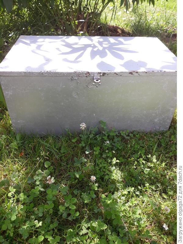 Ящик металлический примерно 50х40
