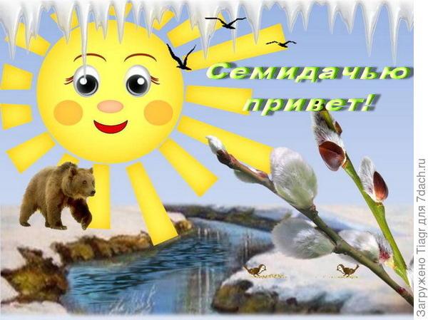 Семидачью Привет! )))
