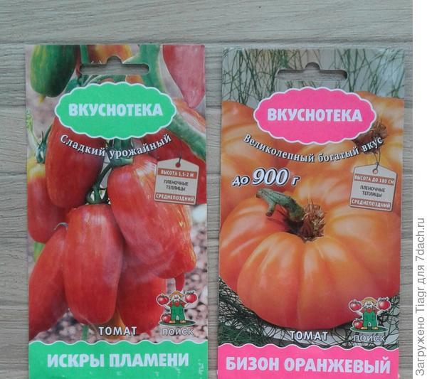 и сорта томатов