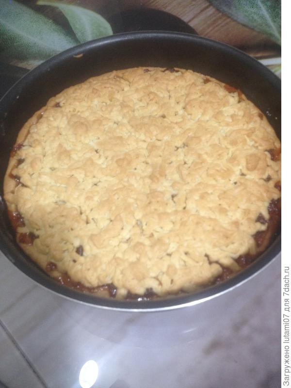 Пирог из песочного теста на майонезе - пошаговый рецепт приготовления с фото