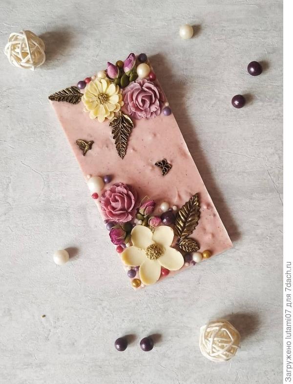 Шоколад ручной работы. Фотографии