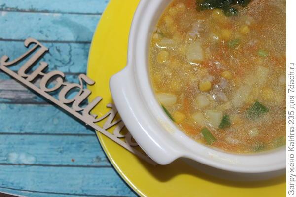 Приятного аппетита. Данный суп идеальный обед для худеющих. Топпер лежит символический для себя любимой-)-) Делаем тело к лету!