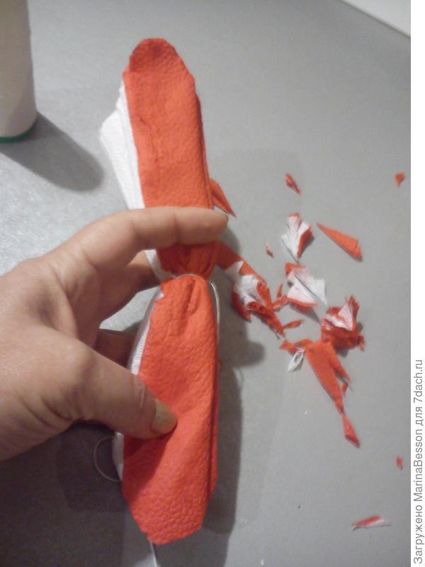 Подрезаем лепестки
