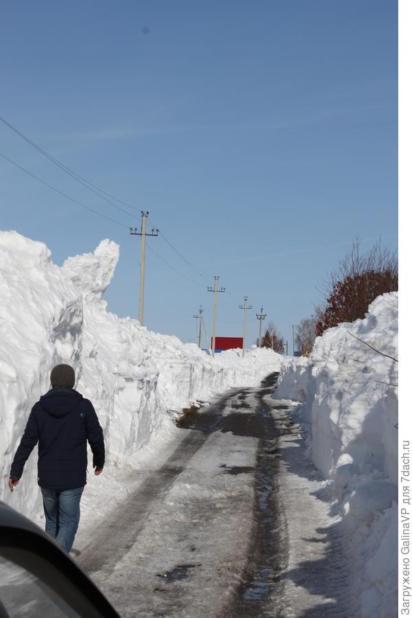 Снега ещё ого-го сколько