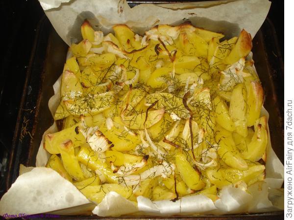 Готовая картошечка
