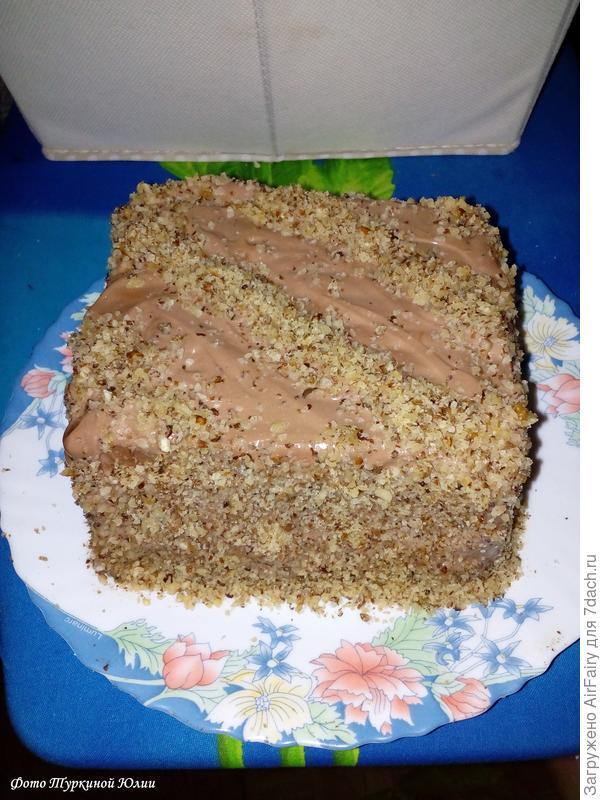 На 7 дач - выходные с тортами. Все за стол - пошаговый рецепт приготовления с фото