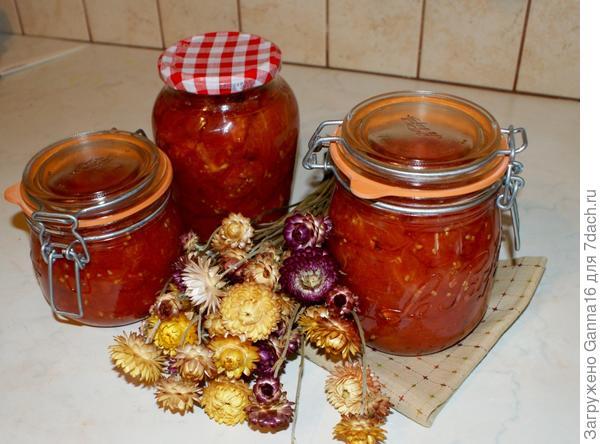 Уже готовые томаты