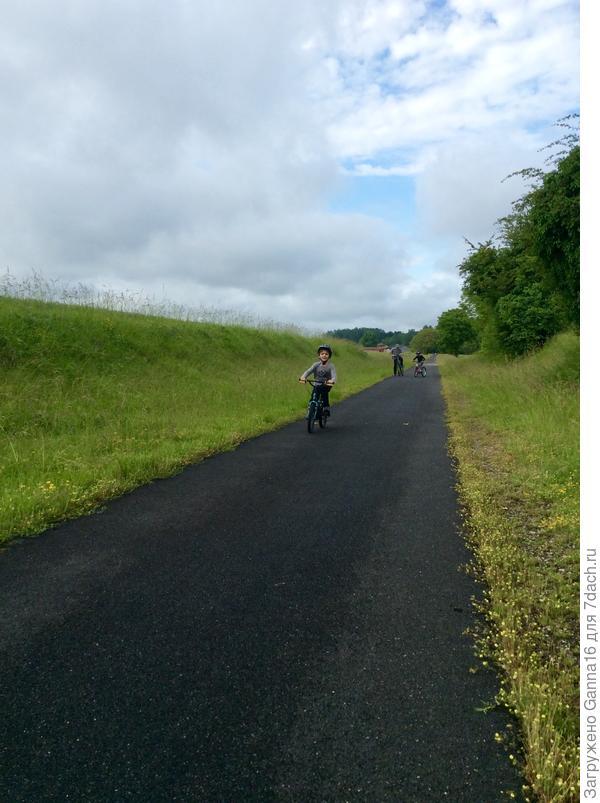 """"""" Зелёная дорога"""". Здесь место только для пешеходов и велосипедистов. Абсолютно безопасно для прогулок с детьми"""