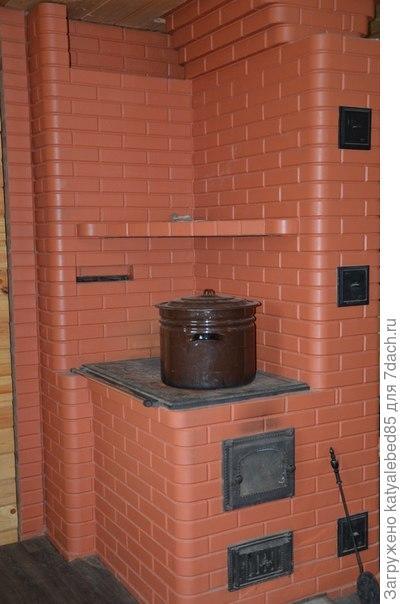 Проекты отопительно-варочных печей из кирпича