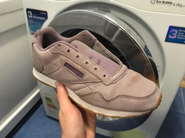 Что будет, если постирать замшевые кроссовки