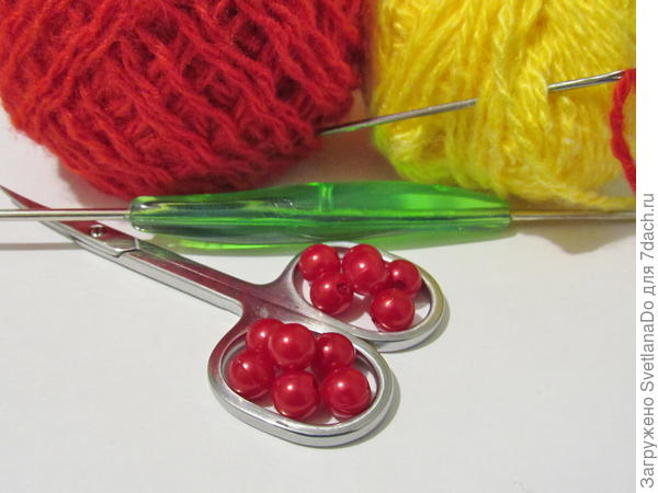 то,что потребуется для вязания